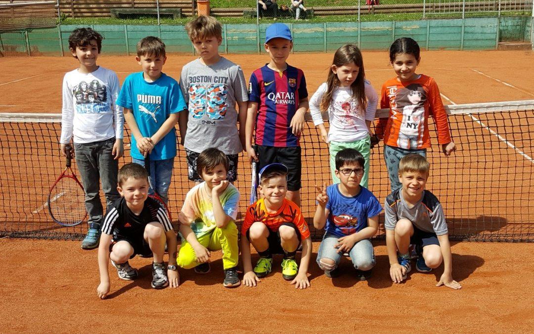 Gemeinsames Tennisprojekt mit der Nachmittagsbetreung der GS Heusweiler-Dilsburg