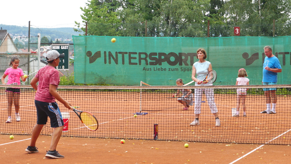 Ferienprogramm für Kinder beim Tennisclub 2018