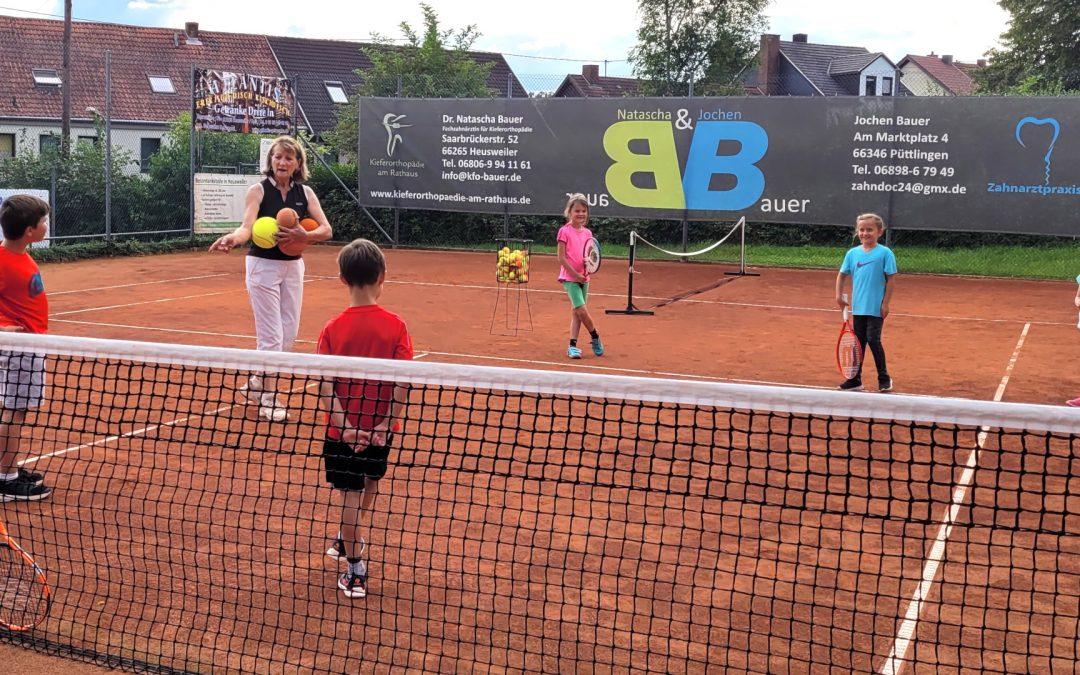 Ferienprogramm für Kinder beim Tennisclub 2021