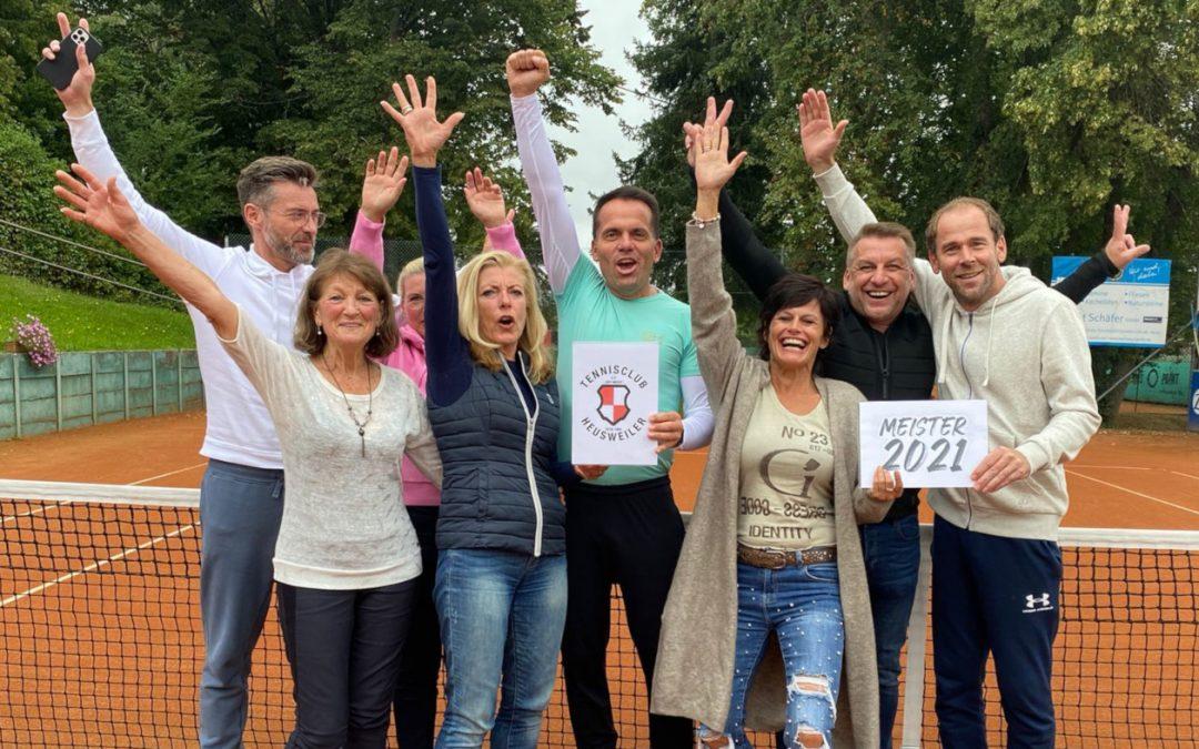 Mixedmannschaft des TC Heusweiler Meister der Landesliga 2021