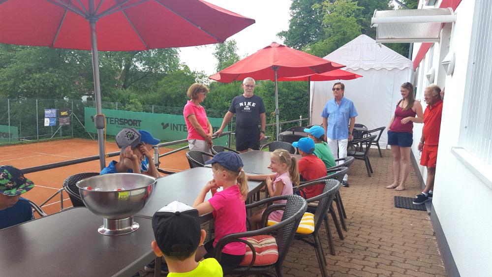 Ferienprogramm für Kinder beim Tennisclub – ein voller Erfolg